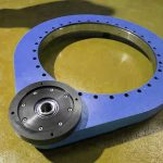 Spur gear slewing drive SP-M-0841 exported to Italy