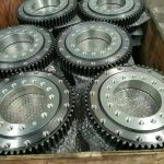 Worm slewing drive SE9 exported to Hamburg Germany