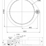 ST-I-0841 SPUR GEAR SLEWING DRIVE